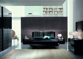 modern bedroom black