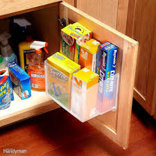 18 inspiring inside cabinet door storage ideas plastic storage
