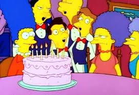 happy belated birthday special simpsons