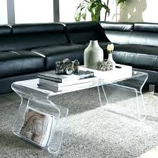 Clear Coffee Table Clear Coffee Tables Iblog4 Me