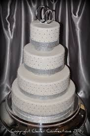 wedding cakes with bling bling bling wedding cake this fondant covered cake is impr flickr