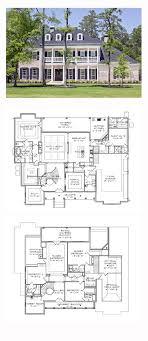 antebellum home plans plantation house plan 77818 total living area 5120 sq ft 5