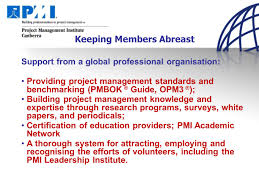 emerging global trends in project management mal smith pmp project 5 keeping members abreast support from a global professional organisation providing project management
