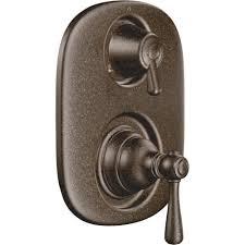 Moen Oil Rubbed Bronze Shower Head Moen T4111bn Kingsley Brushed Nickel Two Handle Valve Only Faucets