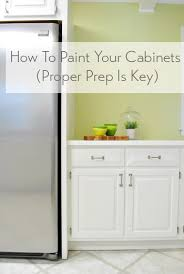 how to prep cabinets for painting how to paint your kitchen cabinets proper prep young house love