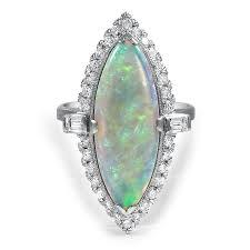 vintage opal engagement rings 8 stunning vintage opal rings brilliant earth