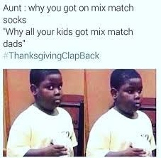 thanksgiving day clap back blackpeopletwitter