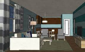 Virtual Interior Painting Coastal Contemporary Living Room In Hampstead Nc