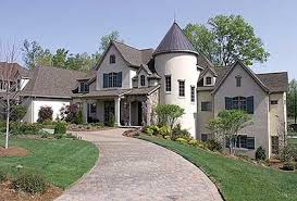 chateau house plans spacious country chateau 17672lv architectural designs