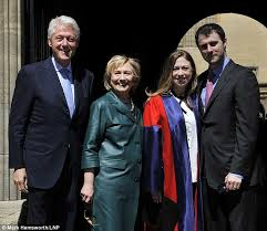 Chelsea Clinton graduates doctorate program at Oxford and her     Daily Mail All smiles  The former President and Secretary of State joined their daughter Chelsea and her