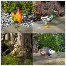 garden animal statues ebay