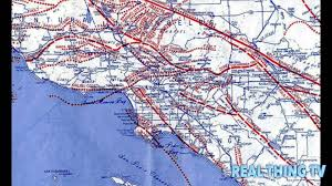 Earthquake Map Los Angeles by Explosive Helium Is Leaking From Massive Earthquake Fault Under