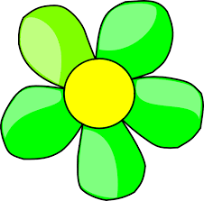 Lime Green Flowers - green flowers cliparts cliparts zone
