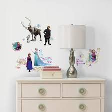 roommates rmk2361scs frozen peel and stick wall decals 36 count includes 36 disney frozen wall decals view larger roommates decor