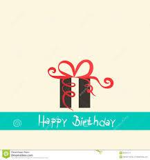 happy birthday simple design flat design happy birthday stock vector illustration of vector