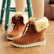 womens casual boots nz wholesale rabbit fur knee wedge bootswomen