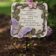 garden plaques evergreen flag garden those we garden plaque reviews