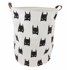 Canvas Laundry Hamper by Large Canvas Storage Toy Or Laundry Basket Black And White Super