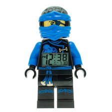 lego ninjago jay sky pirates kid u0027s moveable minifigure alarm clock