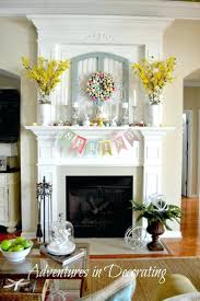 decorations adventures in decorating styling our mantel