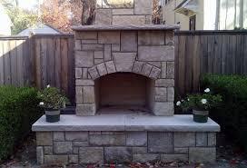 diy outdoor fireplace kits images