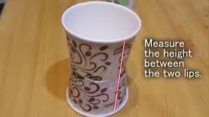 make a nice pen holder from disposable cups youtube
