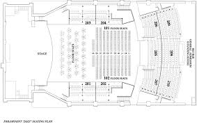 seating charts for the paramount in huntington long island