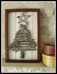 At Home Christmas Trees by At Home With K Haul Out The Holly Christmas Tree Twig Art
