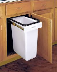 trash can attached to cabinet door rv slide out trash can modmyrv