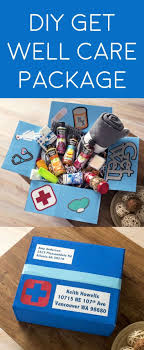 care package for a sick friend diy get well care package doingood mod podge rocks