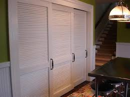 White Shutter Closet Doors Louvered Closet Doors With Slats And Rails For Closet Remodels