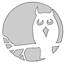 owl template free bird patterns for stained glass best 25 owl