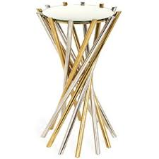 Brass Accent Table Modern Contemporary Brass Accent Table Allmodern