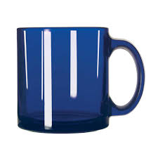 cobalt coffee mug libbey retail