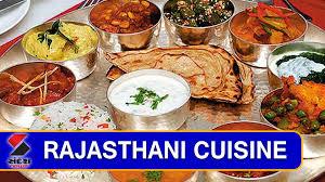 cuisine rajasthan rajasthani cuisine on khana khazana sandesh