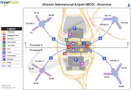 mco terminal map orlando orlando international mco airport terminal maps