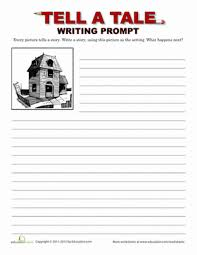 5th grade writing prompt worksheets education com