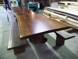 Walnut Live Edge Table by Hand Made Black Walnut Live Edge Slab Table 14 U0027 Long By Woodrich