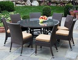 Glass Patio Table And Chairs Amazing Patio Tables Or Size Of Glass Patio Table With