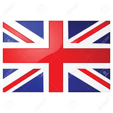 Beitish Flag Glossy Illustration Of The Union Jack The British Flag Royalty
