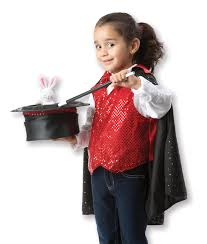 amazon com melissa u0026 doug magician role play costume set
