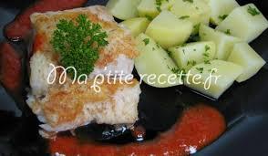 cuisiner filet de julienne filet de julienne au poivron recette plat julienne
