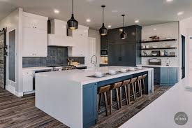 what color appliances with blue cabinets hgtv s best pictures of kitchen cabinet color ideas from top