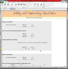 adding and subtracting mixed units youtube