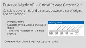 Orlando Traffic Maps by Adding Location Intelligence To Your Apps With Bing Maps