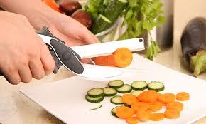 planche à découper cuisine couteau ciseaux de cuisine 9 99 coupe légume clever cutter express