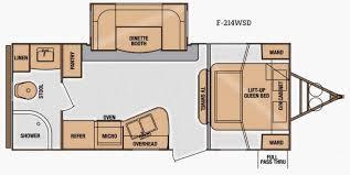 Floor Plan Finder New 2014 Cruiser Fun Finder F 214wsd Travel Trailer At Western Rv