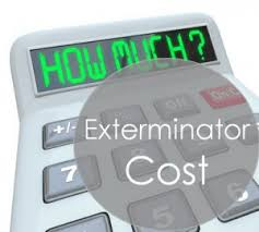 how much does an exterminator cost on average manvspest