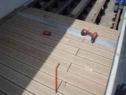 photo terrasse composite en bois composite