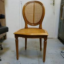 chaises cann es 4 chaises cannes de style louis xvi la salle des ventes du amazing